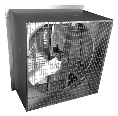 Agricultural Exhaust Fan - 115/230V Slant-Wall, Direct-Drive Agricultural Exhaust Fan, 1/2HP