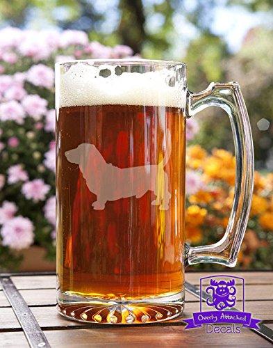 Basset Hound Dog Stein Beer Mug Gift
