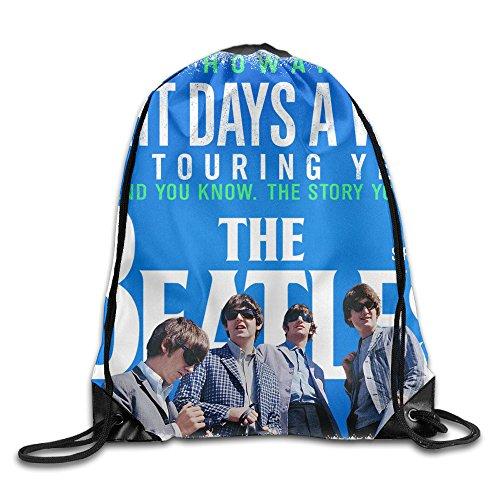 Eight Days A Week Beatles Drawstring Backpack Shoulder -