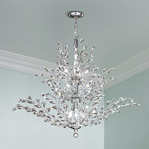 James r moder florale collection silver 41 wide chandelier james r moder florale collection silver 41 wide chandelier amazon mozeypictures Images