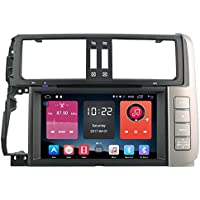 Autosion In Dash Android 6.0 Car DVD Player Sat Nav Radio Head Unit GPS Navigation Stereo for Toyota Land Cruiser Prado 150 2010 2011 2012 2013 4G Support Bluetooth SD USB Radio OBD WIFI DVR 1080P