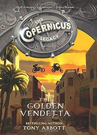 book cover of The Golden Vendetta