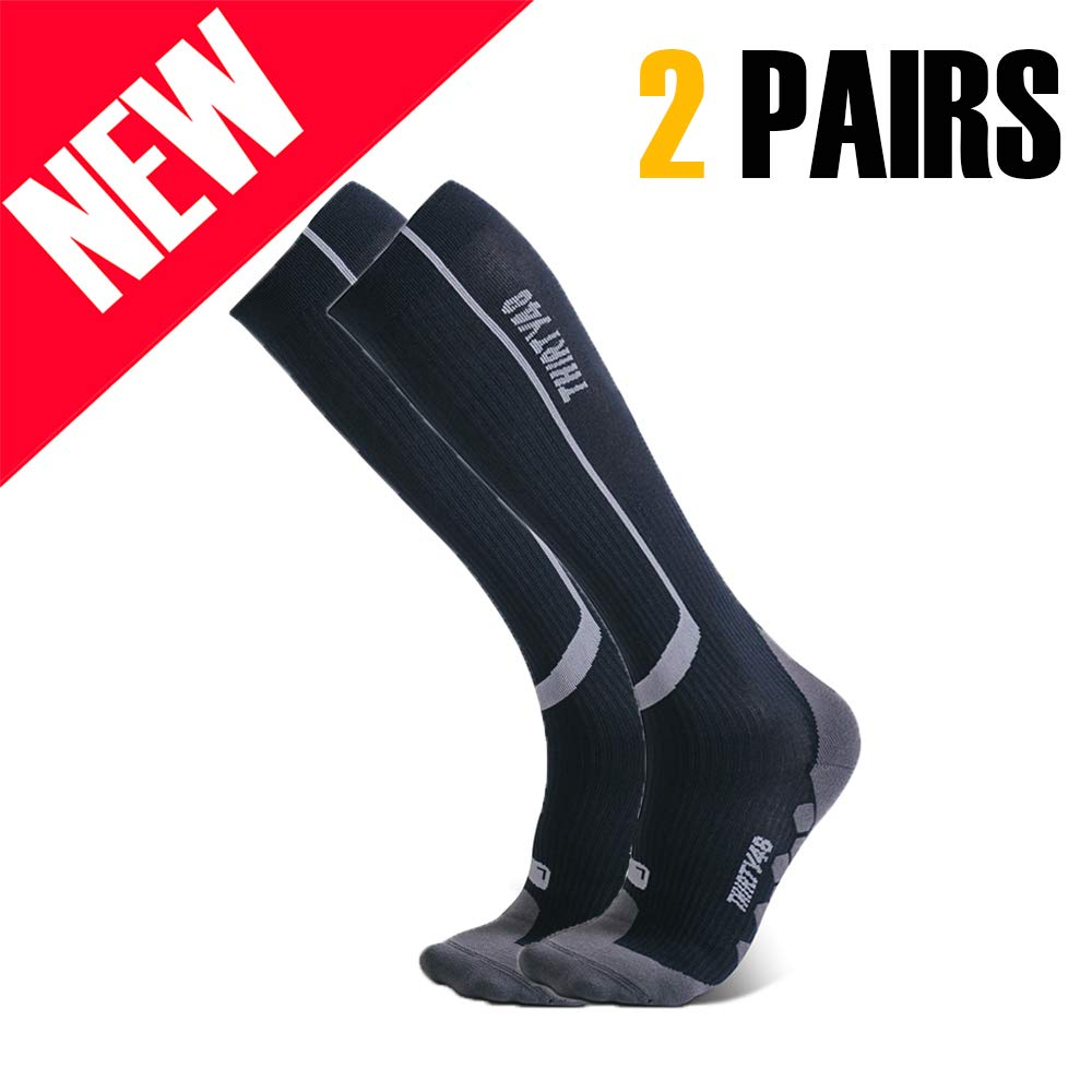 Thirty 48 Elite Compression Socks Graduated 20 30mmHg Compression for Performance and Recovery