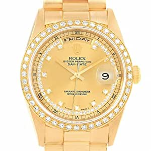 Rolex Day-Date automatic-self-wind mens Watch 18238 (Certified Pre-owned)