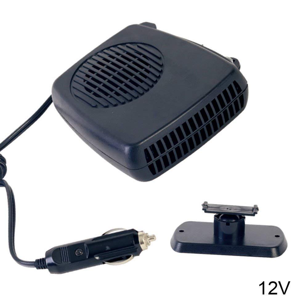 Acquisto RoadRoma Riscaldatore per Auto Portatile Sbrinamento per Veicolo Sbrinamento Riscaldamento Riscaldatore e Ventola di Raffreddamento Nero Prezzi offerte