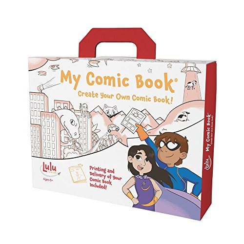 My Comic Book Making Kit is a great gift for boys ages 6, 7 or 8