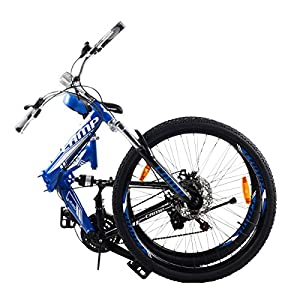 Camp 26 Alloy Folding Mountain Bike