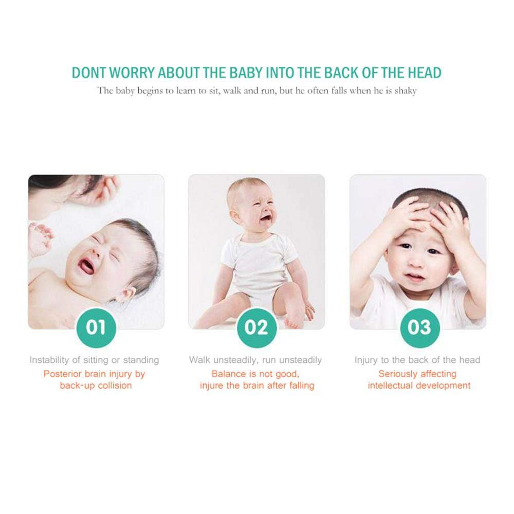Guardian Baby Cushion for Baby Walkers Protective Head and Shoulder Protector Infant Cute Drop Resistance Safety Pad FOONEE Adjustable Baby Toddlers Head Bump Protective Pad