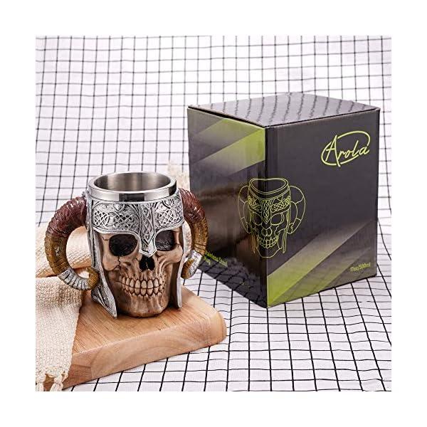 Horn Skull Beer Cup,