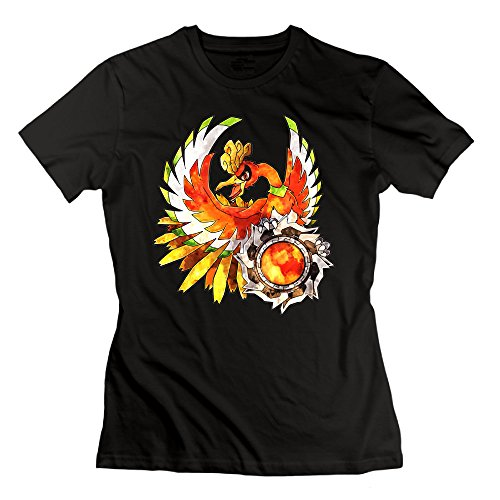 Texhood Women's Ho Oh Black Tshirt SizeXXLO-Neck