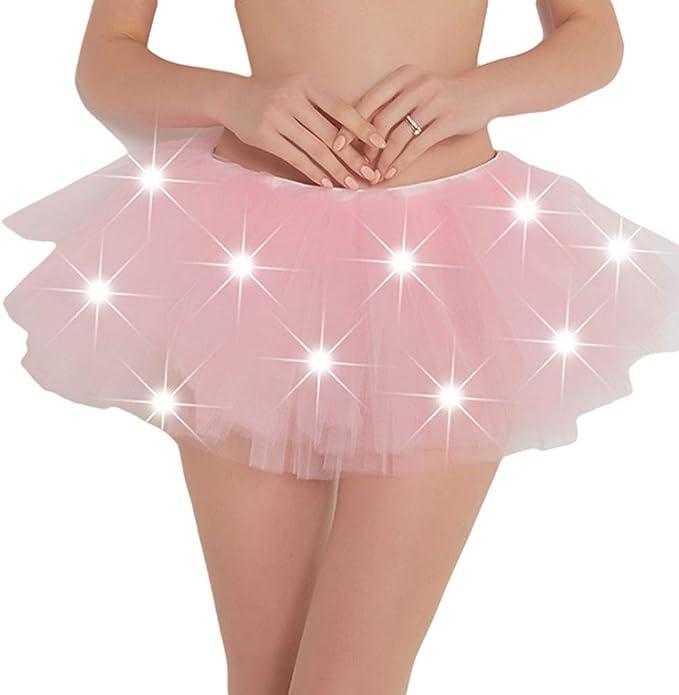 hibote Mujeres Falda Tutú - Princesa de Tul Ballet Danza Enaguas ...
