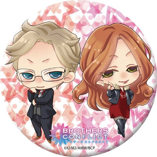 TV Anime BROTHERS CONFLICT can mirror Ukyo & Hikaru by Broccoli