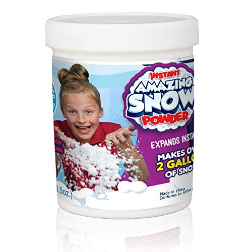Be Amazing! Toys Amazing Grow Snow Jar, Makes 2 gallon (Sodium Polyacrylate Powder)