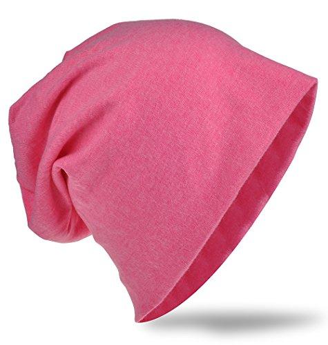 Unisex Uni Slouch Beanie Long Rosa Color Estrella Mujer Estrella Hombre gorros Jersey Gorro Trend H4Zwf6qq