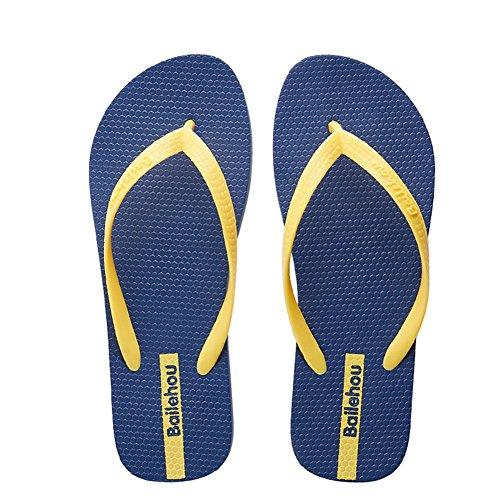 Btrada Klassieke Flip-flops Voor Dames Antislip Strand Sandaal Zomerschoenen Blauw