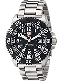 Navy Seal Colormark Black Dial Steel Mens Watch 3152
