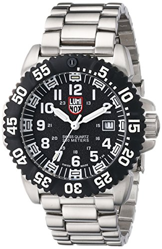Luminox Navy Seal Colormark Black Dial Steel Mens Watch 3152 by Luminox