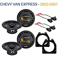 Chevy Van Express 2003-2007 Factory Speaker Upgrade Harmony (2) R65 Package New