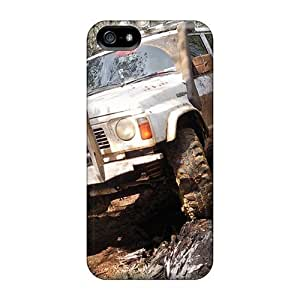 Anti-scratch And Shatterproof 4x4 Phone Case For Iphone 5/5s/ High Quality Tpu Case by mcsharks
