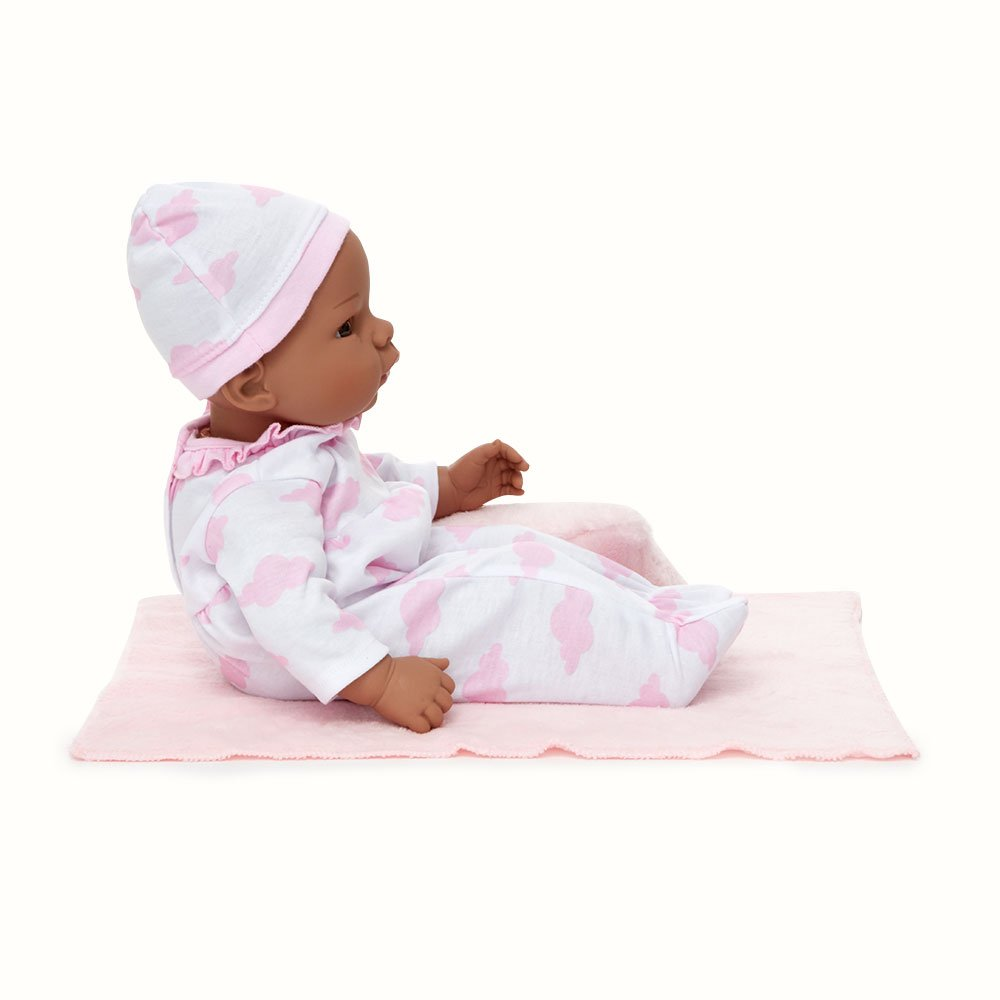 Madame Alexander Middleton Doll Newborn Baby Pink Cloud African American, Multicolor