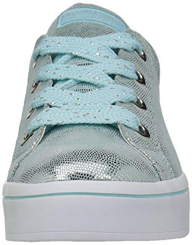 Blue Metallic Light Skechers Lite Reptile Hi Street Women waxgHq0v
