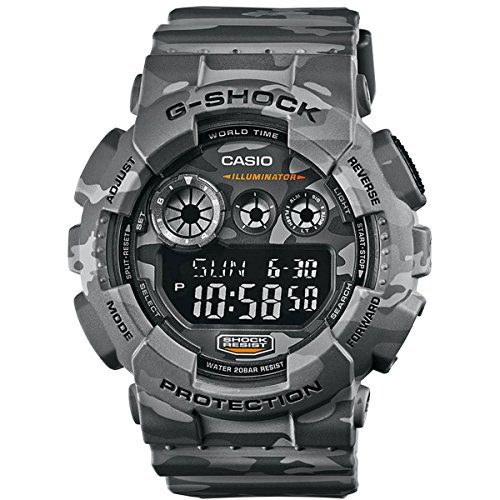 Casio G Shock GD-120CM-8ER G-Shock Uhr Watch Montre Camo Pack limited Edition by Casio