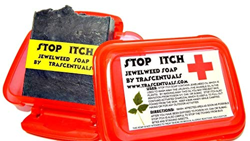 Stop Itch Poison Ivy Soap With Jewelweed Removes Urushiol From Poison Ivy Oak and Sumac Helps With Insect Bites and Stings