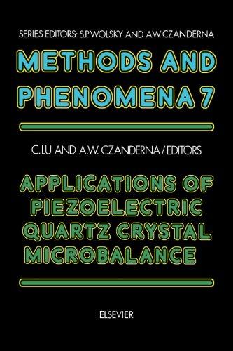 Quartz Piezoelectric Crystal - Methods and Phenomena, Volume 7: Applications of Piezoelectric Quartz Crystal Microbalance