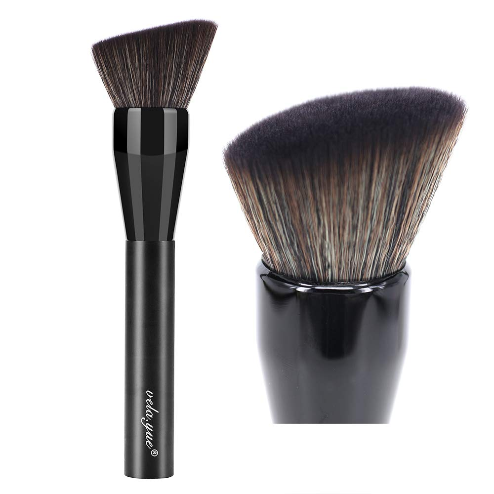 vela.yue PRO Foundation Brush Large Press Full Coverage Complexion Makeup Brushes Sponge Function VY