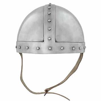 Spangenhelm para Arqueros, Yelmo Medieval Nasal Vikingo, Recreación histórica, Cascos Medievales, Yelmo