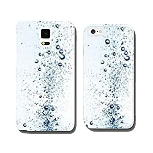 rising air bubbles in water cell phone cover case iPhone6 Plus