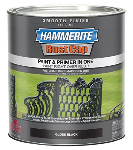 Masterchem Industries 44240 QT Smooth Paint, (Hammerite Rust Cap)