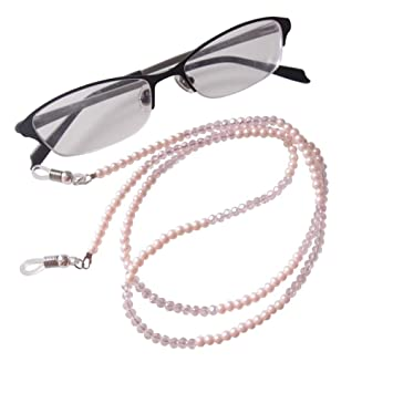28a1965ab33b Amazon.com  Sundysh Pearl Eyeglass Chain