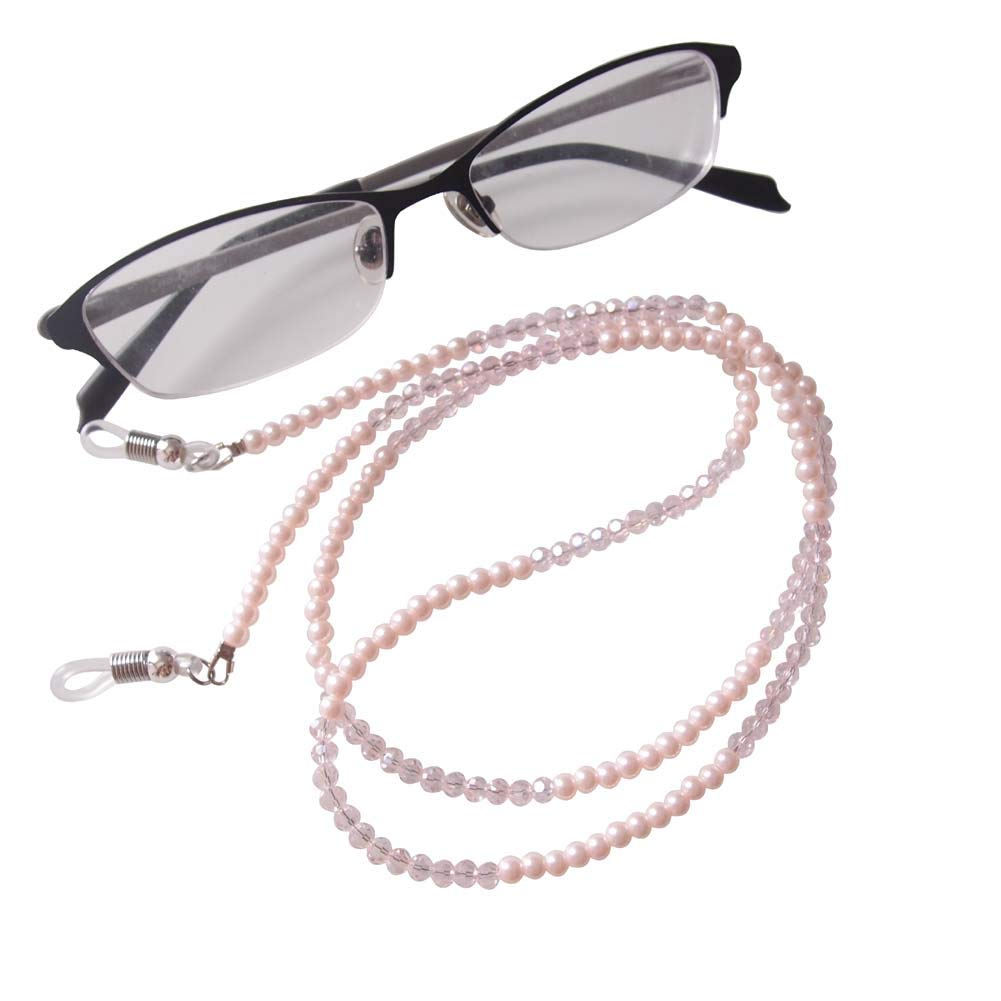 Retro Glasses Chain Sunglasses Eyeglasses Reading Retainer Strap Eyewear Lanyard Cord For Women Ladies Girls Eyewear Accessories Apparel Accessories silver