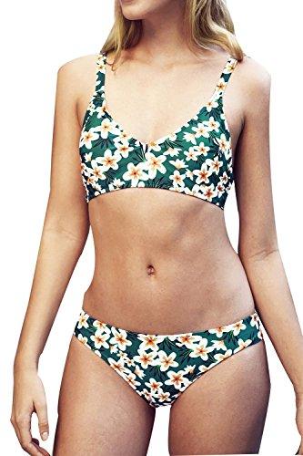 - CUPSHE Women's Wizard of OZ Print Bikini Set Beach Swimwear Bathing Suit