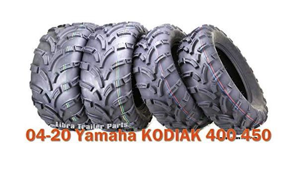 Set of 4 WANDA ATV//UTV Tires 25X8-12 25X10-12 for 1993-2004 YAMAHA KODIAK 400