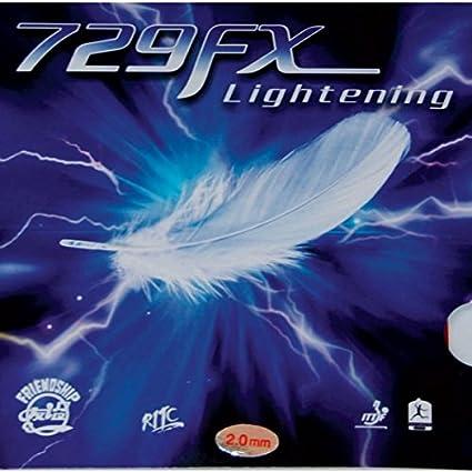 Friendship 729FX Lightning tenis de mesa caucho