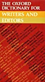 img - for The Oxford Dictionary for Writers and Editors book / textbook / text book