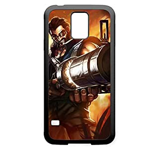 Graves-001 League of Legends LoLDiy For LG G3 Case Cover PC Black