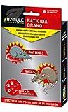 Fitosanitarios - Ratonicida-Raticida en semillas Caja 200gr. - Batlle