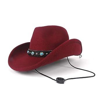 Diasdaisda Sombrero de Vaquero Sombrero, Sombrero Gorra Mujer ...