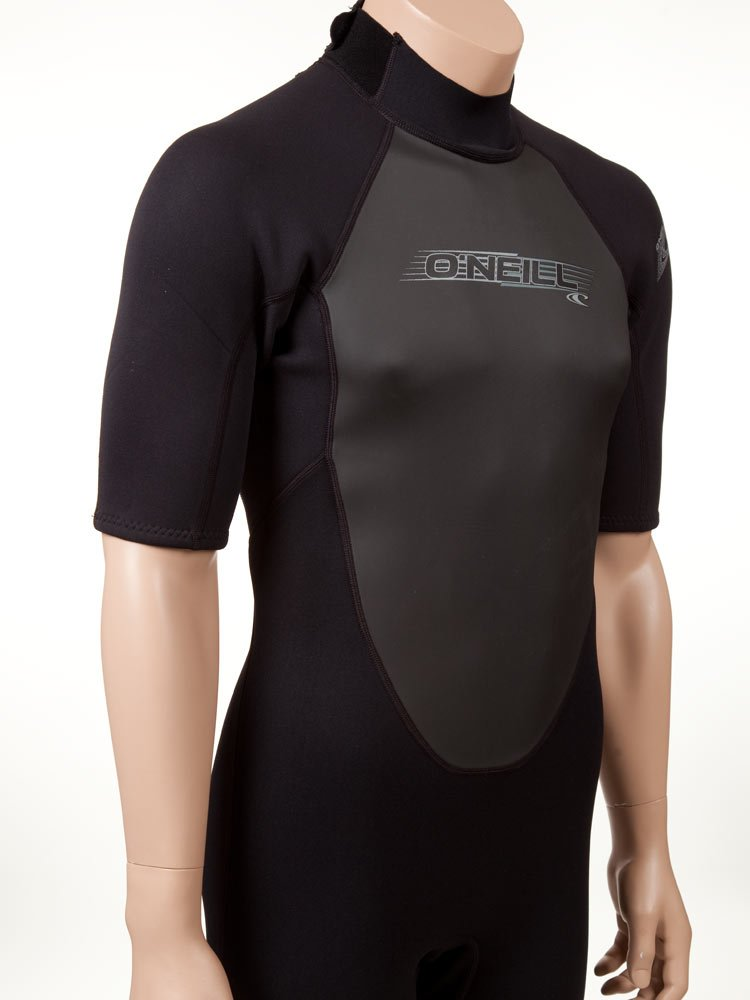 O'Neill Men's Reactor 2mm Back Zip Spring Wetsuit, Black, XXX-Large by O'Neill Wetsuits