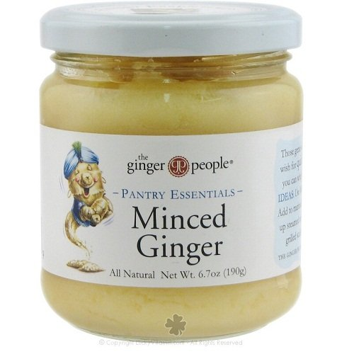 Ginger People Organic Minced Ginger - 6.7 oz