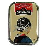 Connetable Sardines d'Argent Millesime 2014 in Olive Oil 4 oz