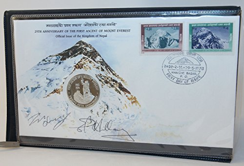 (The 25th Anniversary of the First Ascent of Mount Everest Commemorative [Signed by Tenzing Norgay and Sir Edmund)