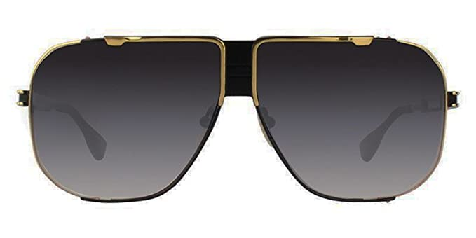 Dita Cascais Marco cepillado Black Shiny Gold con lente ...