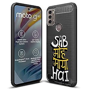 Fashionury Motorola G40 Fusion/Motorola G60 Printed Rugged Armor Designer Pouch Mobile Back Cover -HB023