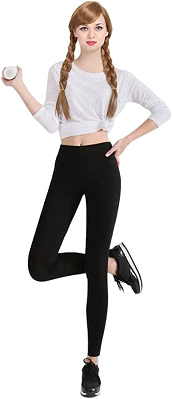 ZUUC Womens Skirt with Elasticated Waist Full Length Thick Leggings