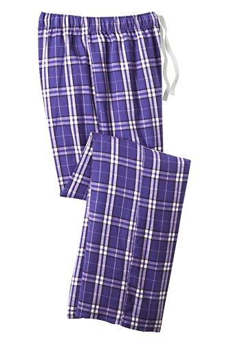 Plaid Flannel Pajama Pants Young
