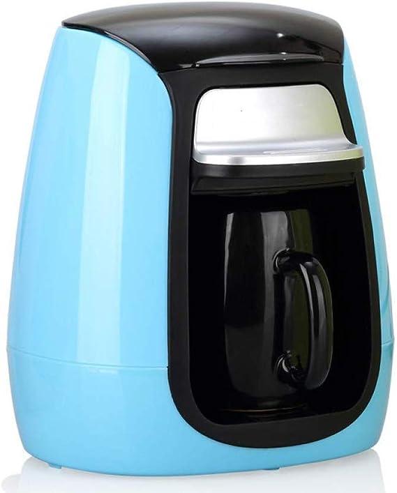 TWDYC Cafetera Completamente automática portátil Copa Cafetera de Reloj de Arena Mini Solo pote del café del té Que Hace la máquina (Color : Red): Amazon.es: Hogar
